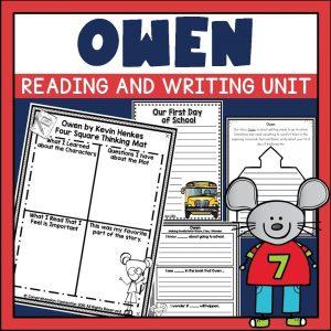 https://www.teacherspayteachers.com/Product/Owen-Book-Companion-309978