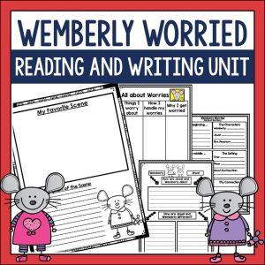 https://www.teacherspayteachers.com/Product/Wemberly-Worried-Comprehension-Activities-311864
