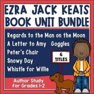 Ezra Jack Keats Author Study for Six Books