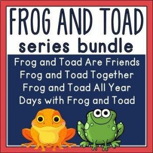 Frog and Toad Bundle by Arnold Lobel