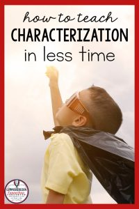 Characterization is one of the most important skills for fictional texts. In this post, the mentor texts are Amazing Grace and Mr. Lincoln's Way. You'll love these book!